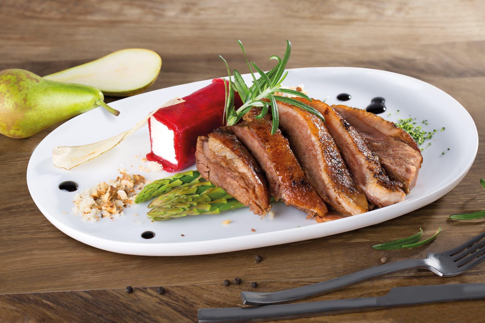 Zdjęcie produktowe dania z gęsi