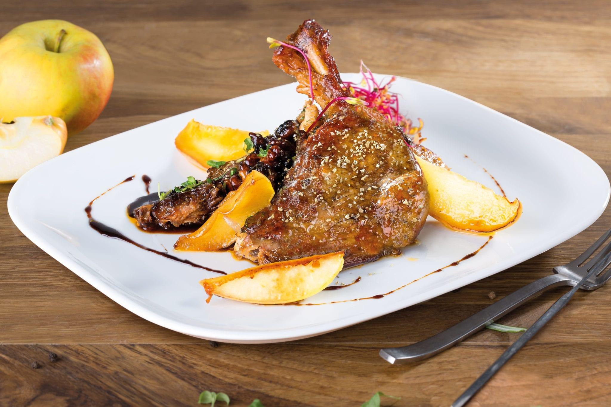 Zdjęcie produktowe dania z kaczki