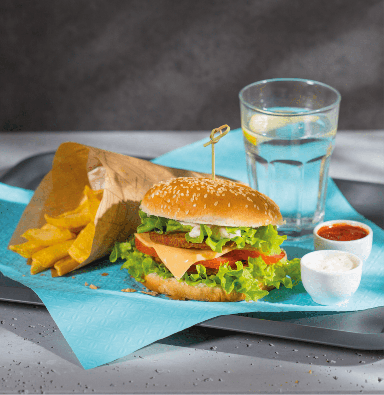 Sesja produktowa - Burger