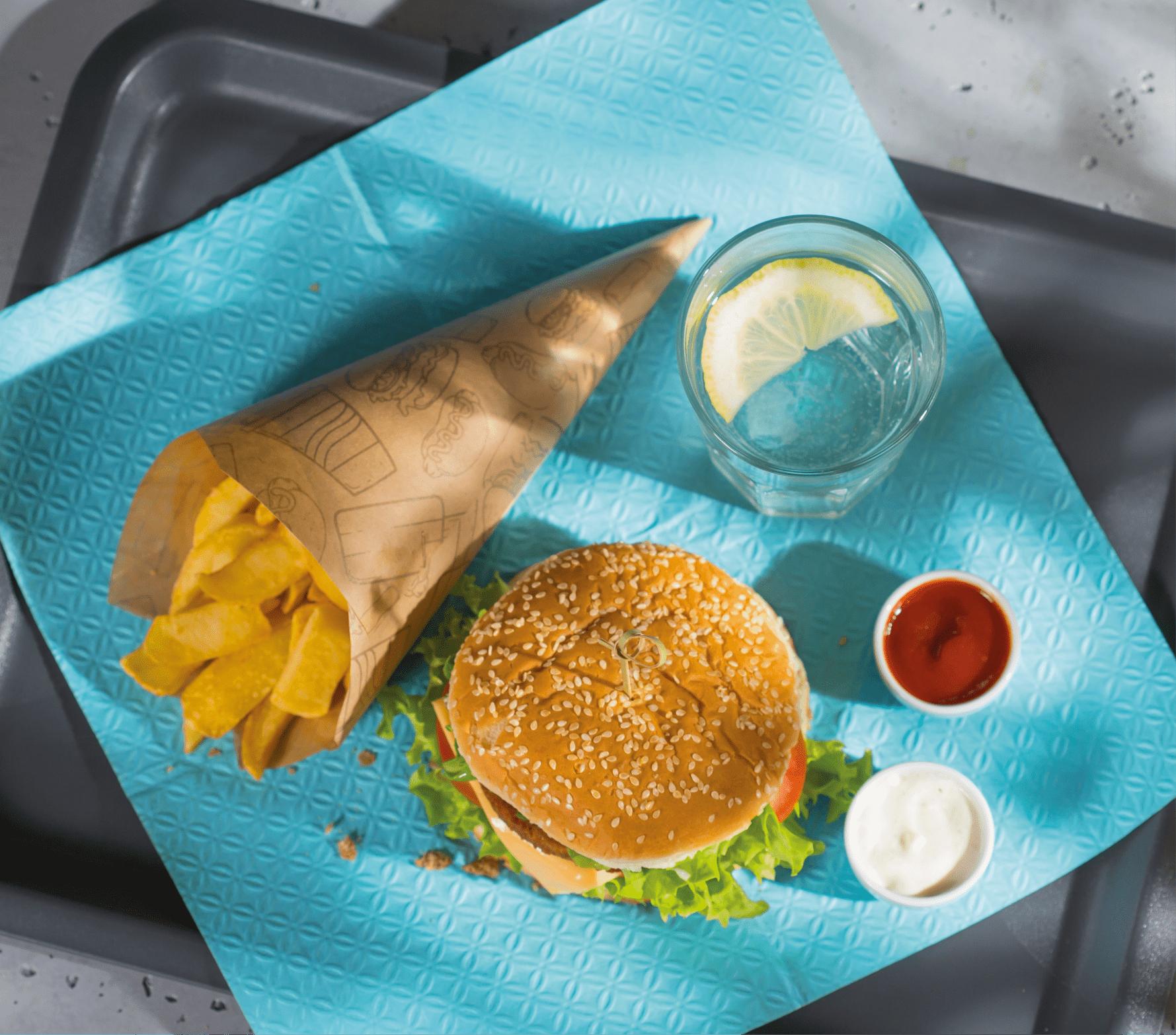 Burger - sesja zdjęciowa