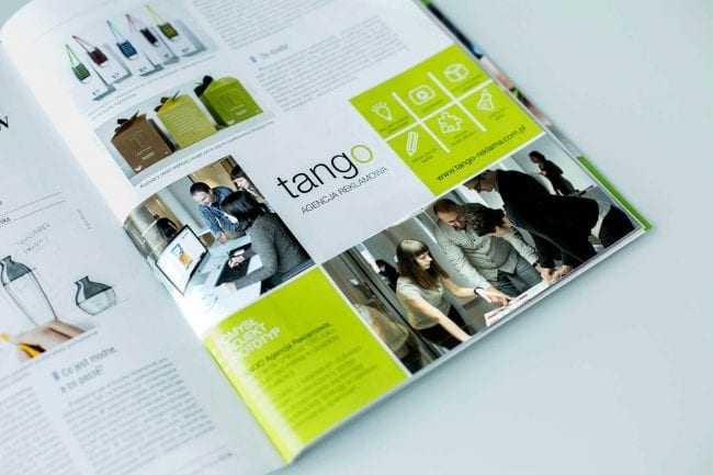 "Tango w magazynie ""Packaging"""