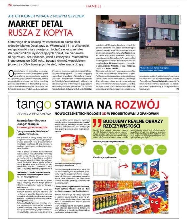 Tango Web Center