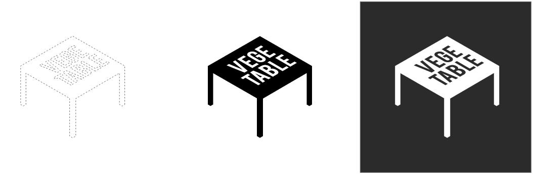 Proces projektowania logotypu vegeburger